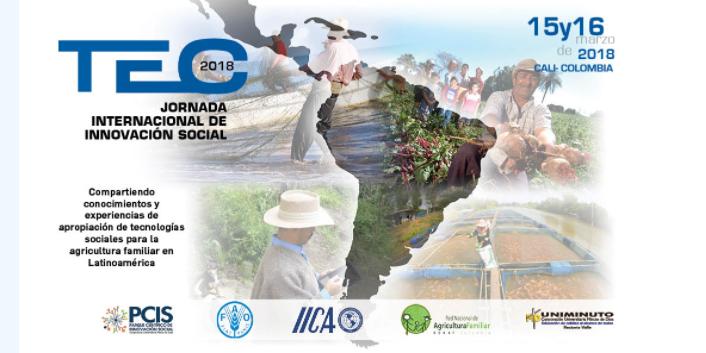 Jornada Internacional de Innovación Social TEC 2018 sobre Agricultura Familiar