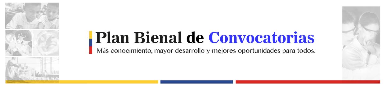 Convocatoria del Fondo de Ciencia, Tecnología e Innovación del Sistema General de Regalías