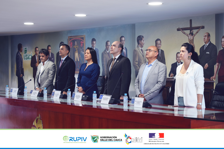 Todo un éxito la cumbre Colombo-Francesa Colifri 2019