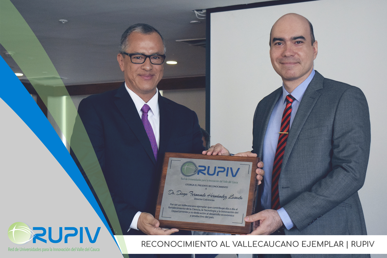 La RUPIV destaca la labor del Director de Colciencias