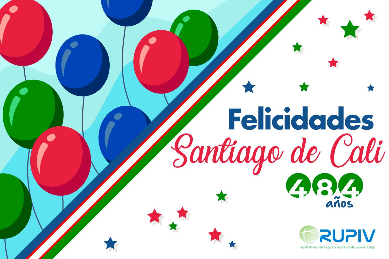 ¡Felices 484 años Santiago de Cali!