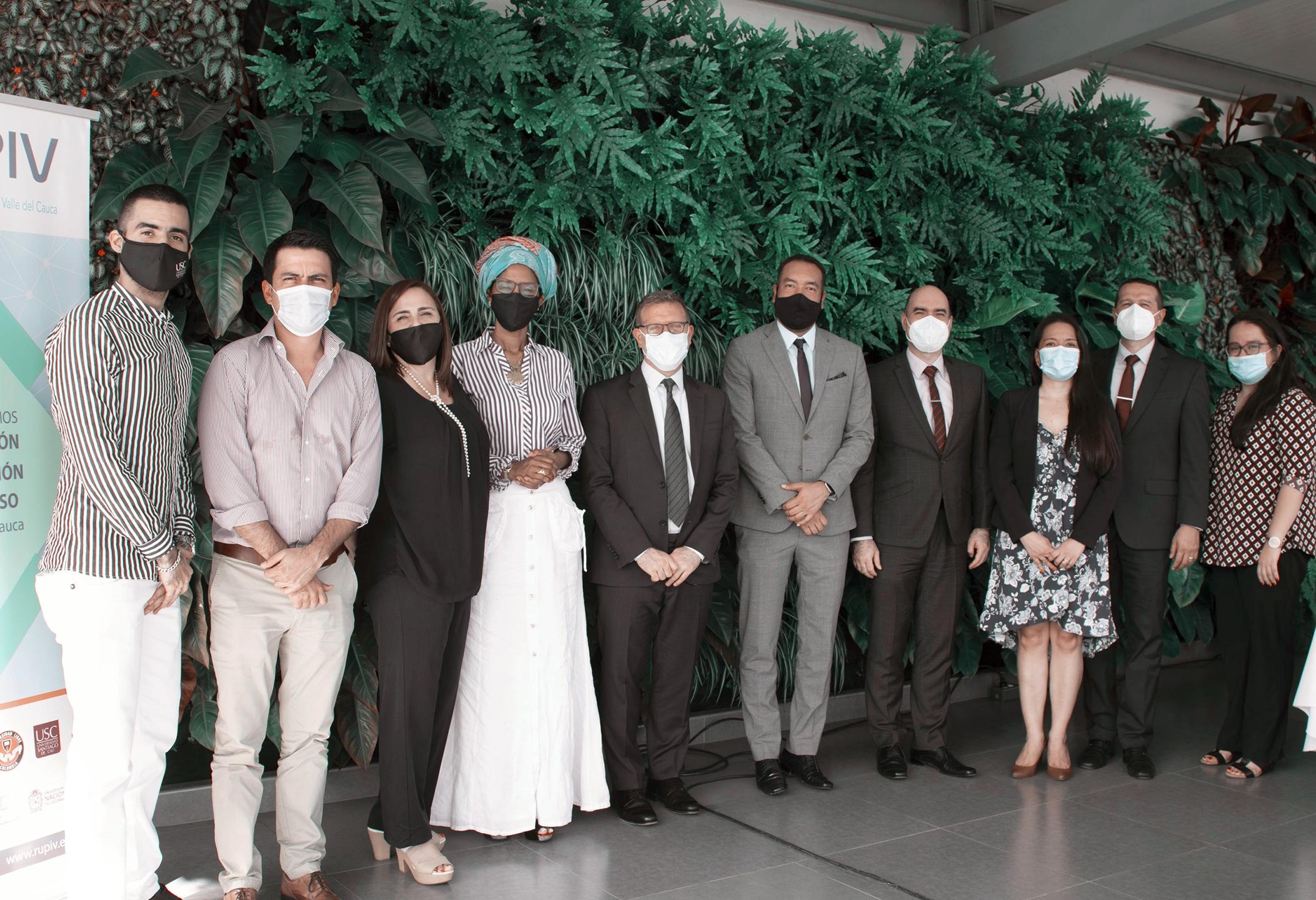 La RUPIV recibió la visita del Dr. Christian Cantor, Embajador de Israel en Colombia