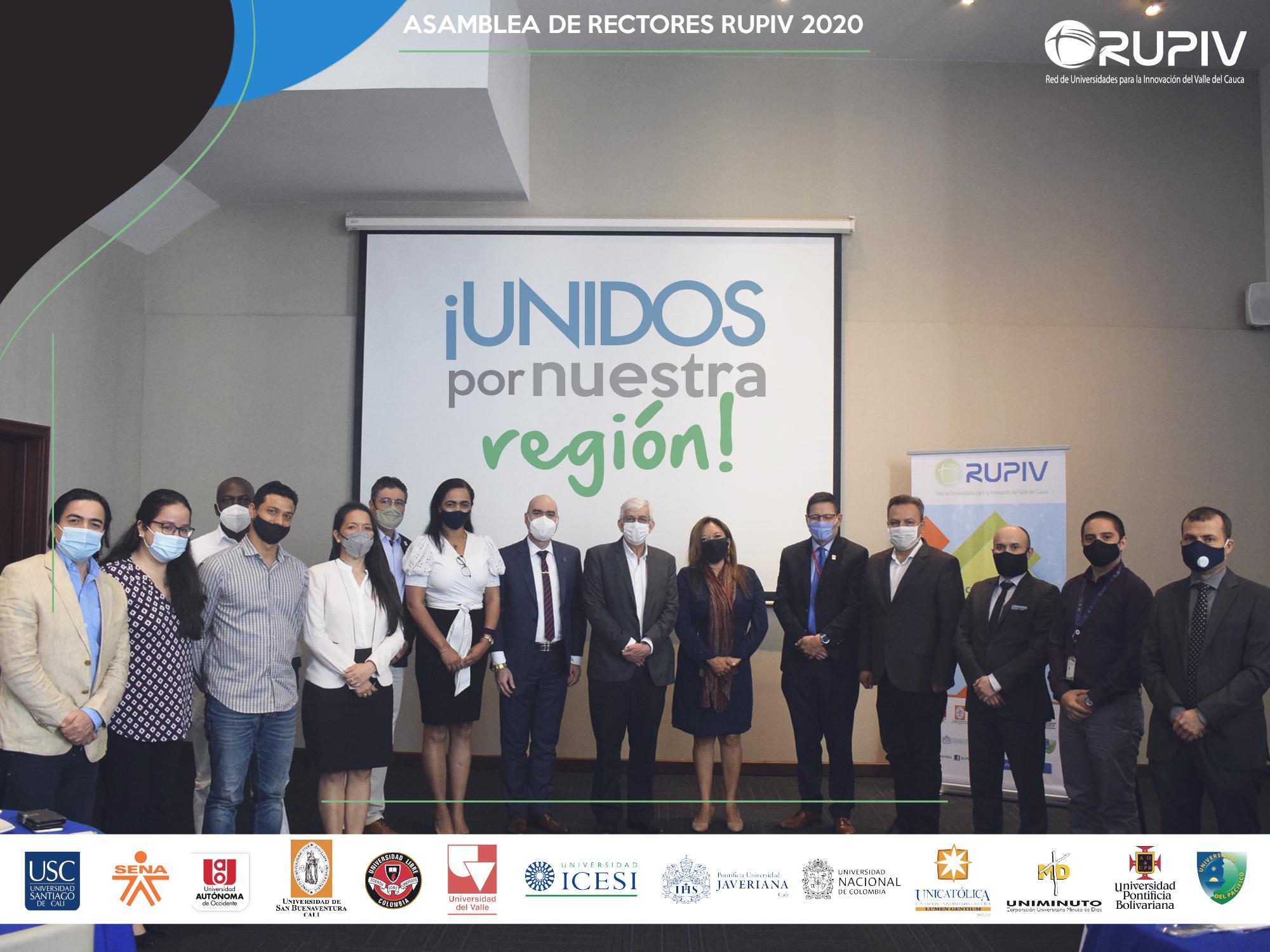 ASAMBLEA GENERAL DE RECTORES RUPIV 2020