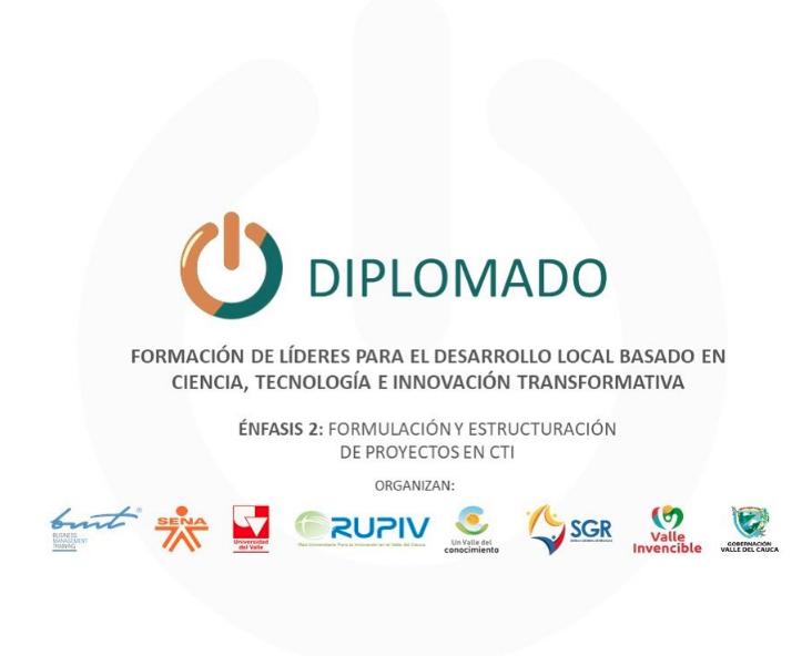 RUPIV PRESENTE EN EL DESARROLLO DEL ECOSISTEMA CTI DEL VALLE DEL CAUCA