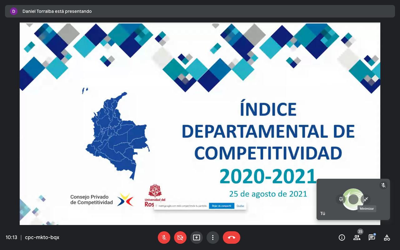 PARTICIPACIÓN DE RUPIV EN LA PRESENTACIÓN DEL IDC 2020 – 2021
