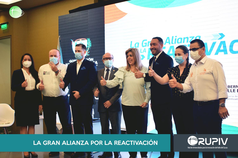 RUPIV PRESENTE EN LA GRAN ALIANZA POR LA REACTIVACIÓN