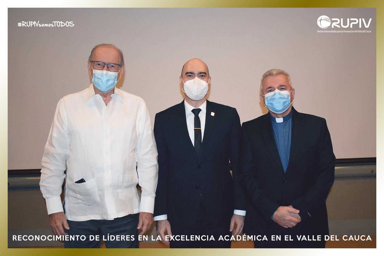 LA RUPIV RINDE UN HOMENAJE EN VIDA AL DR. FRANCISCO PIEDRAHITA Y FRAY ERNESTO LONDOÑO